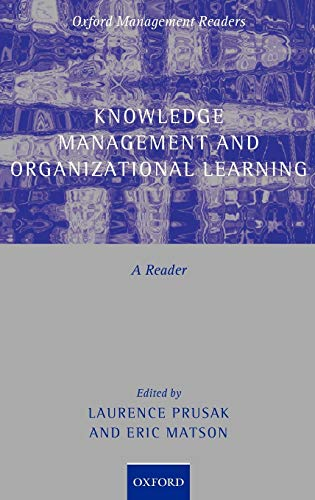 9780199291793: Knowledge Management and Organizational Learning: A Reader (Oxford Management Readers)