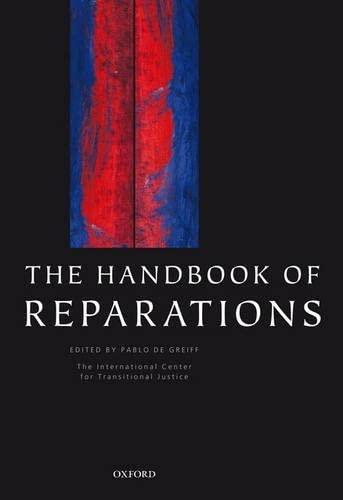 9780199291922: The Handbook of Reparations