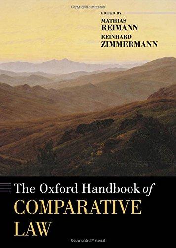 9780199296064: The Oxford Handbook of Comparative Law (Oxford Handbooks)