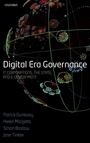 9780199296194: Digital Era Governance: IT Corporations, the State, and e-Government