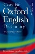 9780199296354: Concise Oxford English Dictionary: Eleventh edition Thumb Index