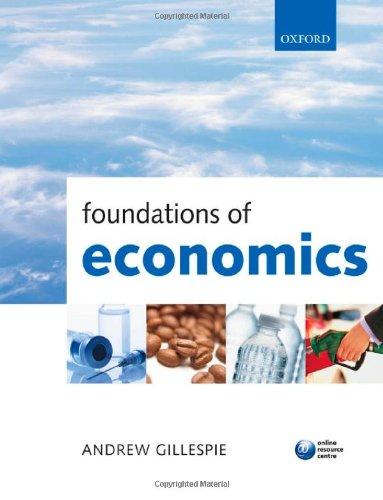 9780199296378: Foundations of Economics