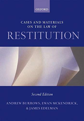 burrows essays law restitution