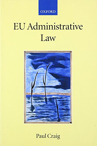 9780199296811: EU Administrative Law (Collected Courses of the Academy of European Law)