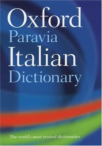 9780199297757: OXFORD-PARAVIA ITALIAN DICT AG