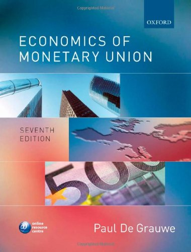 9780199297801: Economics of Monetary Union