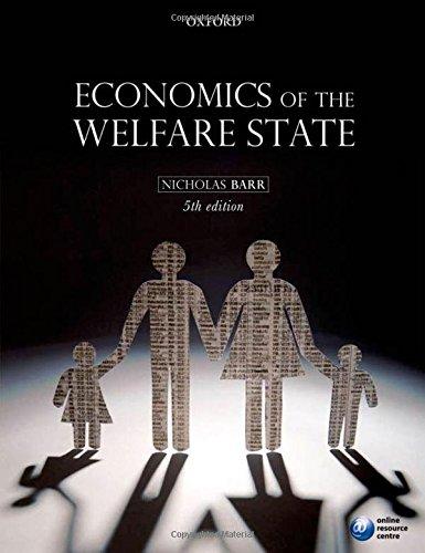 9780199297818: Economics of the Welfare State