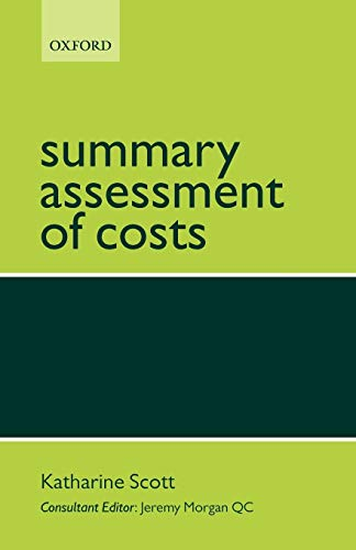 9780199298211: Summary Assessment of Costs
