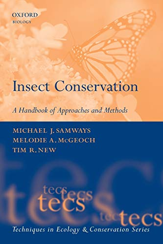 9780199298228: Insect Conservation: A Handbook of Approaches and Methods (Techniques in Ecology & Conservation)