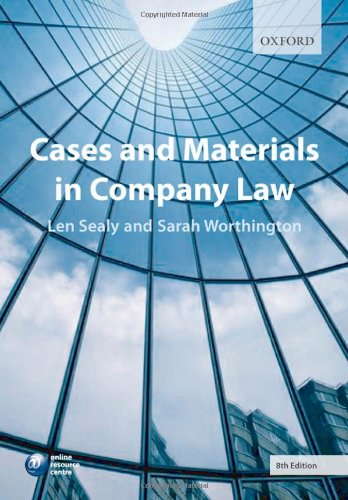 9780199298426: Cases and Materials in Company Law