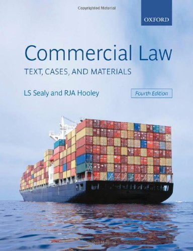 9780199299034: Commercial Law: Text, Cases, and Materials