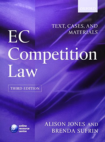 9780199299041: EC Competition Law: Text, Cases & Materials: Text, Cases and Materials
