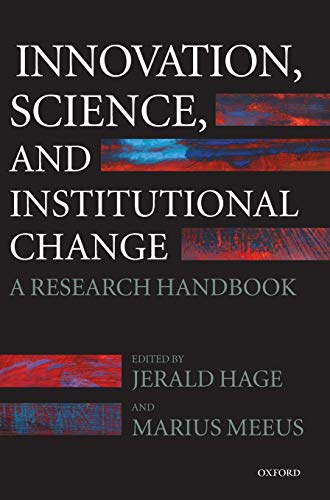 9780199299195: Innovation, Science, and Institutional Change: A Research Handbook