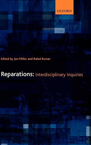 9780199299911: Reparations: Interdisciplinary Inquiries