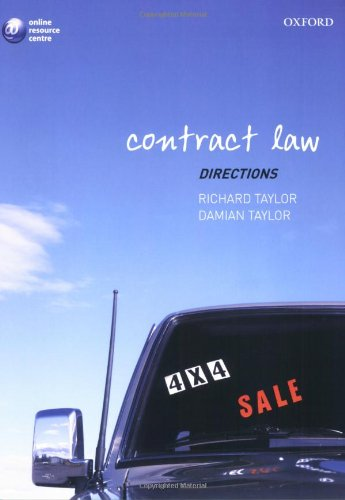 9780199299997: Contract Law Directors (Directions Series)