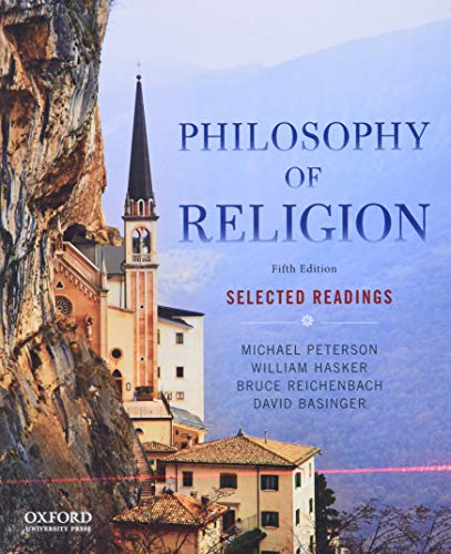9780199303441: Philosophy of Religion: Selected Readings