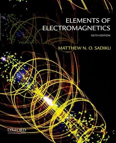 9780199321384: Elements of Electromagnetics