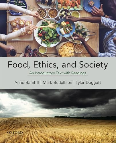 9780199321742: Food, Ethics, and Society: An Introductory Text with Readings