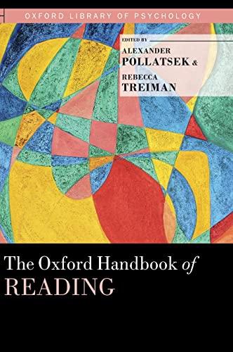 9780199324576: The Oxford Handbook of Reading