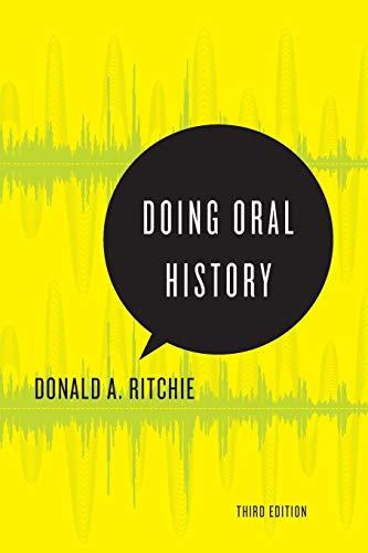Doing Oral History (Oxford Oral History Series)
