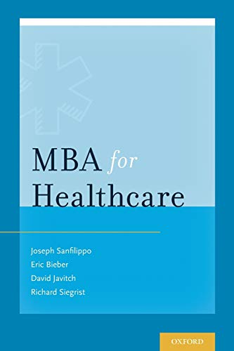 9780199332052: MBA for Healthcare