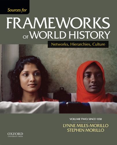 9780199332281: Sources for Frameworks of World History: Volume 2: Since 1400