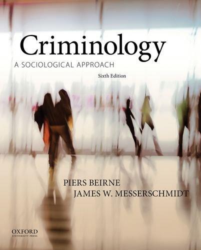 9780199334643: Criminology: A Sociological Approach