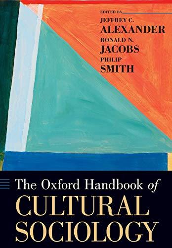 9780199338269: The Oxford Handbook of Cultural Sociology (Oxford Handbooks)