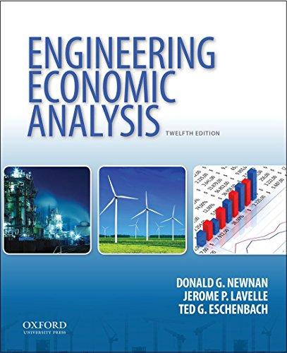 Engineering Economic Analysis: Newnan, Donald G.;