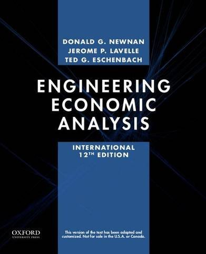 9780199339280: Engineering Economic Analysis
