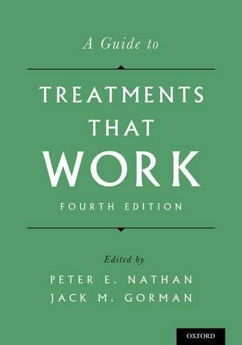 9780199342211: A Guide to Treatments That Work