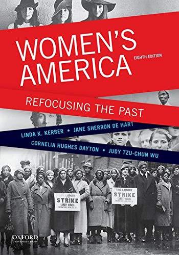 9780199349340: Women's America: Refocusing the Past