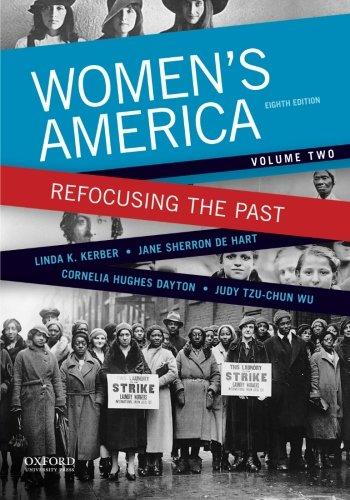 9780199349364: Women's America: Refocusing the Past, Volume Two (Volume 2)