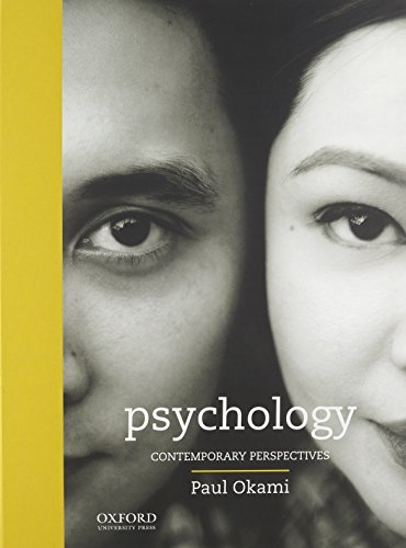 9780199350681: Psychology: Contemporary Perspectives Book Including the Bonus Chapter
