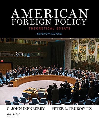 9780199350834: American Foreign Policy: Theoretical Essays