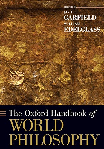 9780199351954: The Oxford Handbook of World Philosophy (Oxford Handbooks)