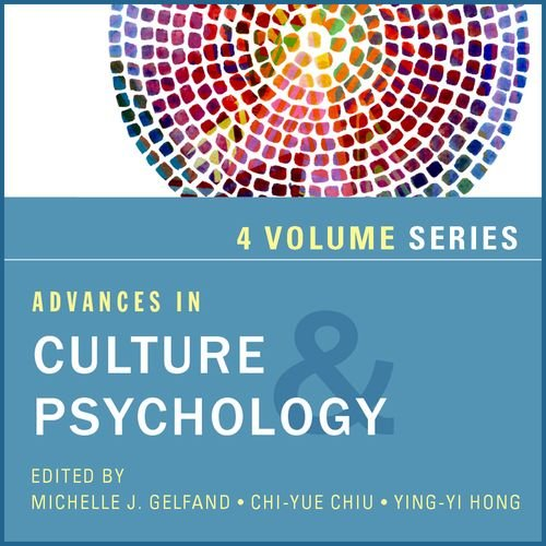 9780199355822: Advances in Culture and Psychology, 4-Volume Set