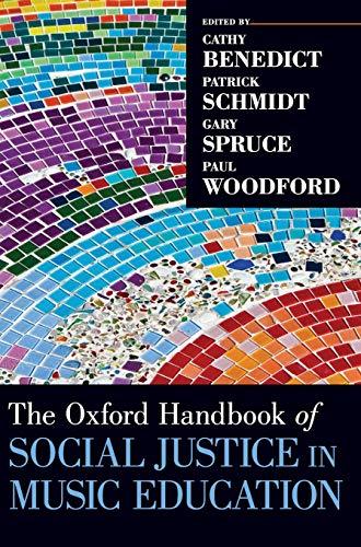 9780199356157: The Oxford Handbook of Social Justice in Music Education (Oxford Handbooks)