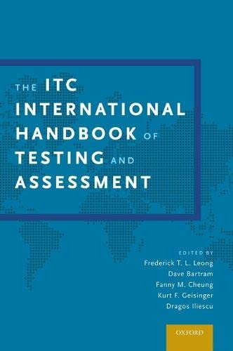 9780199356942: The ITC International Handbook of Testing and Assessment