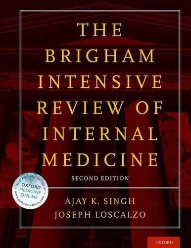9780199358274: Brigham Intensive Review of Internal Medicine