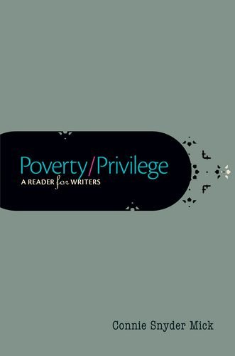 9780199361250: Poverty/Privilege: A Reader for Writers