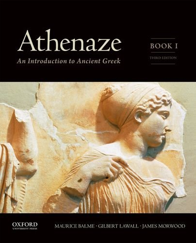 9780199363247: 1: Athenaze, Book I: An Introduction to Ancient Greek