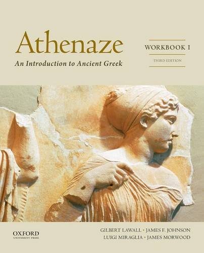 9780199363261: Athenaze, Workbook I: An Introduction to Ancient Greek