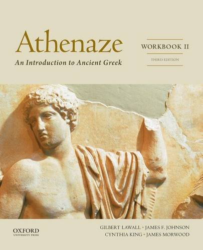 9780199363278: Athenaze Workbook II: An Introduction to Ancient Greek