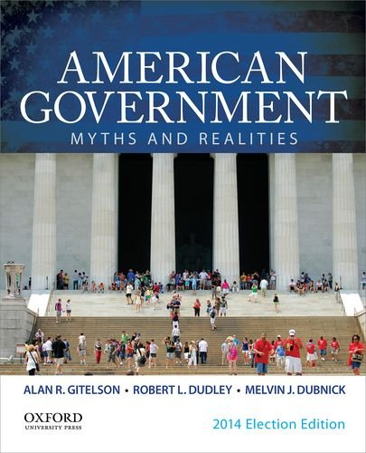 9780199374229: American Government: Myths and Realities