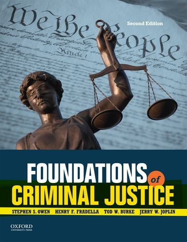 9780199374335: Foundations of Criminal Justice