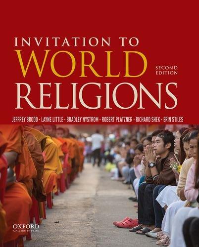 Invitation to World Religions: Stiles, Erin,Shek, Richard,Platzner,