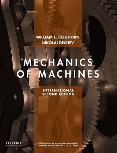9780199379910: Mechanics Of Machines
