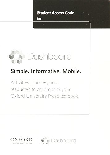9780199385393: Student Access Code for Dashboard