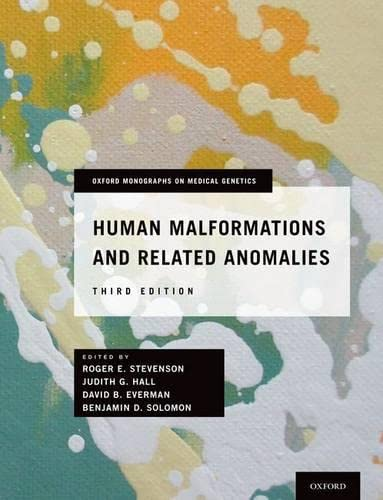 9780199386031: Human Malformations and Related Anomalies (Oxford Monographs on Medical Genetics)